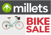 Millets BIKE SALE - up to 45% off Bikes