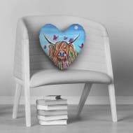 Chloe Mccoo - Heart Cushion