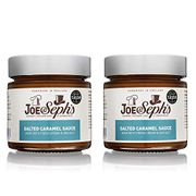 Joe & Seph's Salted Caramel Dessert Sauce Spread - 2 X Jars | Handmade in the UK