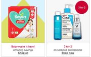 Offers Save 25%/ 30% off/ 3For 2 On Selected Beauty And Skincare/Baby Avent