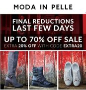 Moda in Pelle - up to 70% off + 20% off + Free Delivery