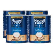 Maxwell House Cappuccino Instant Coffee Powder 4 X 750g