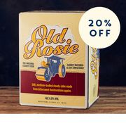 Save 20% on Our Old Rosie Bag-in-Box 20L Cider
