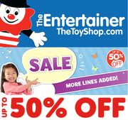 The Entertainer - TOY SALE - up to 50% off - MORE LINES ADDED!