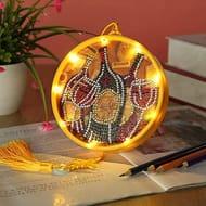 DIY Diamond Painting Lamp