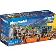Playmobil: THE MOVIE Charlie with Prison Wagon for Children Ages 5+