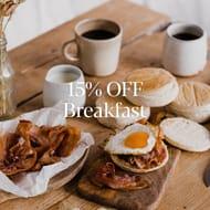15% off Award-Winning Breakfast Ingredients