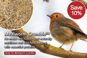 !0% off Mealworm Crumble - (Food for Robins)