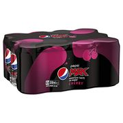 Pepsi Max Cherry - No Sugar - 12 X 330ml Cans - Only £3.83!