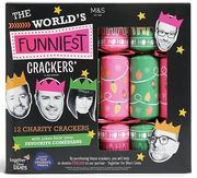 World's Funniest* Recyclable Charity Christmas Crackers