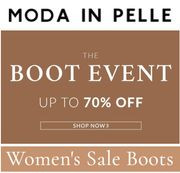 WOMEN'S BOOTS - up to 70% off at MODA IN PELLE