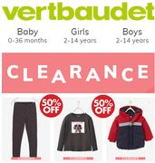 CLEARANCE - Vertbaudet Baby Clothes & Kids Clothes - CLEARANCE