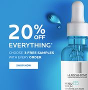 20% off All La Roche Posay Products on All Products Online