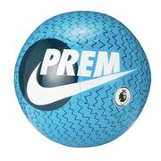 Nike Premier League Pitch Size 5 Football - Blue and White