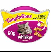 Whiskes Temptations Chicken and Cheese 60g