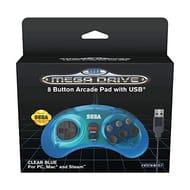 Retro-Bit SEGA Mega Drive USB Controller 8-Button Arcade Pad - Only £17.99!
