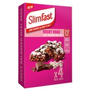 SlimFast Meal Bar Multipacks, 4 X Multipacks (16 Bars Total) with £14 off Coupon