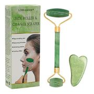 DEAL STACK - Natural Jade Roller Face Massager + 5% Coupon