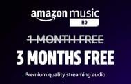 3 Months Free Amazon Music