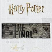 CHEAP! Harry Potter Limited Edition Quidditch Sliver Plated World Cup Ticket