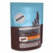 Wainwright's Crunchy Biscuit Adult Dog Treat Salmon 225g