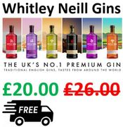 £6 OFF + FREE DELIVERY - Whitley Neill Gins, 70cl