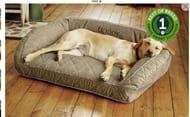Orvis Memory Foam Bolster Dog Bed