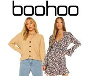 boohoo 30% off Absolutely Everything + Up to 70% off Sale