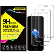 4youquality [3-Pack] iPhone 8 and iPhone 7 Screen Protector
