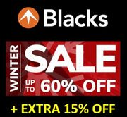 BLACKS | SALE on SALE | up to 60% off + EXTRA 15%