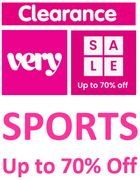 VERY SPORTS CLEARANCE - up to 70% Sportwear, Trainers and Sports Shoes