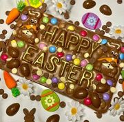 Win a 600g Easter Chocolate Slab