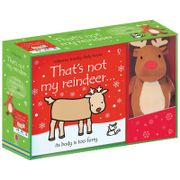 That's Not My Reindeer Book and Teddy Gift