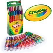 Pack of 24 Crayola Twistables Crayons FREE UK DELIVERY