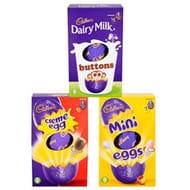 Medium Easter Eggs - Various Cadbury , Nestle ,Mars Eggs