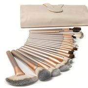 Ammiy Makeup Brushes Sets 18 Pcs + Leather Bag