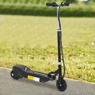 HOMCOM Kids Electric Scooter Folding 7-14 Battery Adjustable Height PU Wheels