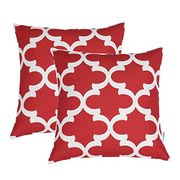 On Screen Voucher Wine Red Cushion 2pk