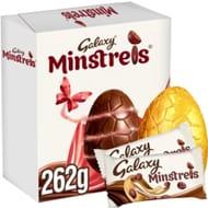 Galaxy Chocolate Easter Egg Bundle Wih 2 Minstrels Chocolate Bags
