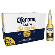 BEST EVER PRICE Corona Extra Mexican Lager Beer Bottle, 24 X 330ml