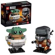 LEGO 75317 BrickHeadz Star Wars the Mandalorian & the Child Baby Yoda