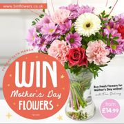 Win a Bouquet of Flowers for Mother's Day