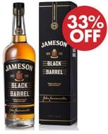 SAVE £12.69 - Jameson Black Barrel Blended Irish Whiskey - FREE DELIVERY