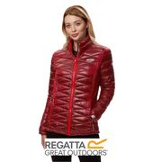 Regatta Ladies Metallia Lightweight Insulated Jacket Red