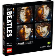 SAVE £22 LEGO Art the Beatles Set for Adults Wall Dcor (31198)