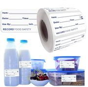 500pc Freezer Food Labels