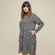 Dorothy Perkins - Curve Multi Coloured Floral Print Jersey Skater Dress