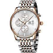Deal Stack! OLEVS Mens Chronographs Watch