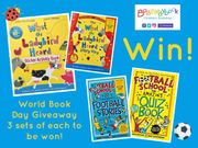 Win a Bundle of Books (TW/FB/IG)