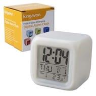 Kingavon Multi Colour Changing Digital Alarm Clock